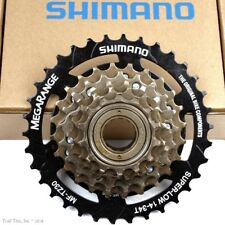 Shimano TZ30 6-Speed 14-34T Road MTB Hybrid Bicycle Megarange Freewheel 14-34