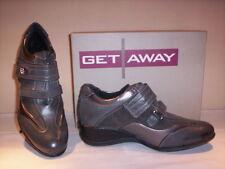 Scarpe sportive sneakers Get Away donna shoes women casual zeppa grigie nuove 36