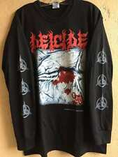 Deicide long sleeve M shirt Grave Vader Immolation Death metal Sinister Krisiun