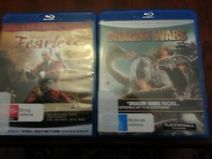 blu ray movies, action x 4ea