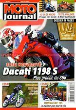 MOTO JOURNAL 1834 HONDA GL 1800 Gold Wing Deluxe TRIUMPH 675 Daytona GILERA GP