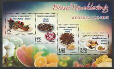 Turkey 2017 Traditional Food MNH sheet