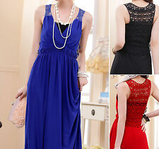 Chiffon Floral Sleeveless Party Dresses for Women