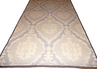 "2'.7"" x 9'.2""  Runner  Tufted Wool Woven Carpet Rug."