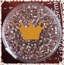15 GRAMMI ROCAILLES VETRO KNORR PRANDELL 2 MM ESAGONALI ORCHIDEA BEST QUALITY
