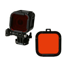 Rouge Plongeon Snap On Filtre pour GoPro HERO 4 5 session