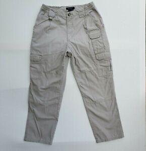 5.11 Tactical 74251 Cargo Pants Beige Khaki 32X29.5