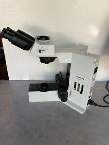 Olympus BX 40 BX40 BX40F-3 Microscope with a U-TR30-2 Trinocular