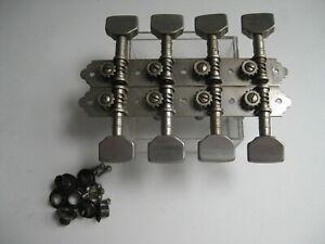 Vintage Gretsch Genth Framus Mandolin Tuners Pegs Set for Project / Repair