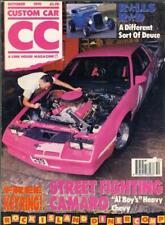 CUSTOM CAR OCTOBER 1991-ROLLS ROYCE MODEL B COUPE-PRO CAMARO-TUF441 57 CHEVY