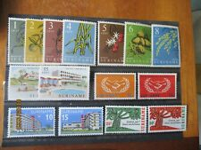 Suriname ~ 5 x Complete MNH Sets ~ Lot 5