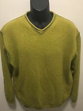 Vintage Tommy Bahama Men's Size M 100% Cotton Long Sleeve Pullover Sweater. C29