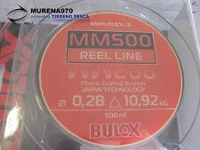 MONOFILO BULOX MM500 REEL LINE 500mt 0,28mm 10,92kg - FIL53