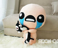 The Binding of Isaac Stuffed Plush Toy with Cat Soft Doll ISSAC Collection 35cm