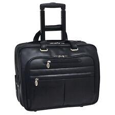 "McKleinUSA WRIGHTWOOD Black 80505 Laptop Case 17"" x 7.5"" x 13"" NEW"