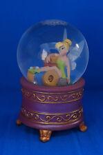 Tinker Bell Spools of Thread Mini Snowglobe Figurine Disney Store Peter Pan