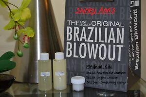 Brazilian Blowout Original Solution - 2oz Md Kit (Fast Shipping)