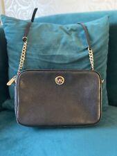 Beautiful MICHAEL KORS Black Soft Leather Shoulder/ Crossbody Bag