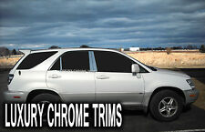 Lexus RX 300 Stainless Steel Chrome Pillar Posts by Luxury Trims 1999-2003 (6pc)