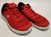 Men's Shoes Size 7 Champion174109/127 Mesh Low Top Lace Up, Red/Black Sports