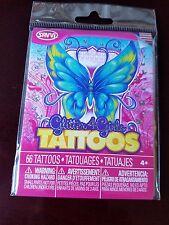 Glitter 4 Girls Tattoos - 66 Temporary Tattoos