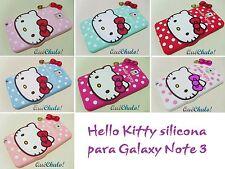 FUNDA CARCASA SILICONA PARA SAMSUNG GALAXY NOTE 3 N9000 HELLO KITTY MIX