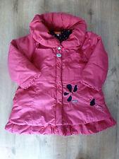 Marèse***Superbe Manteau/Doudoune 3 ans Rose Fushia Bien chaude avec capuche