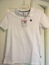 Nike Roger Federer Polo Shirt Boys Small White NWT