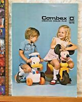 1976 COMBEX TOYS CATALOGUE AUSTRALIA VINYL NITELITES WOMBLES TOM & JERRY RIDE-ON