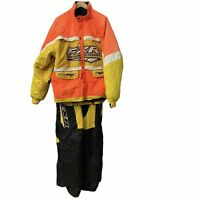 FXR Competition XL Snowmobile Suit Jacket And Bibs Mens Vented Removable Liner