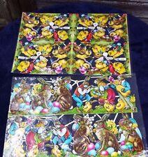 Vintage Easter Die Cut Stickers - Made in Germany
