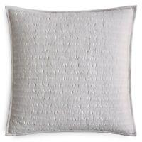 Hudson Park Collection Bellance Quilted Euro PillowSham 100% cotton $125