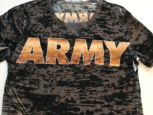 "NHRA DRAG RACING ""US ARMY"" THE SARGE LADIES DSR SHEER TOP SHIRT  SIZE 2X"