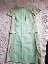 Vintage Henry Lee Dress.  Sage green.  Silk.
