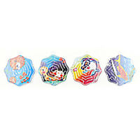 4pcs 3D Magic Cube Puzzle Speed Cube Puzzle Labyrinth Ball Toy Track Maze ToysBD