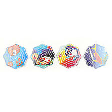 4X3D Magic Cube Puzzle Speed Cube Puzzle Labyrinth Ball Toy Track Maze Toy  SPES