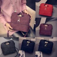 Women Shoulder Bag PU Leather Handbag Messenger Crossbody Hobo Satchel Purse Lot