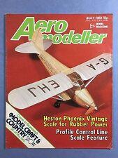 AERO MODELLER - May 1983 - Vintage Model Aircraft Magazine, ZLIN Akrobat