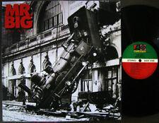 MR. Big - Lean Into It [ 1991 Korea Orig 1st Vinyl ] EX w/Insert No Barcode