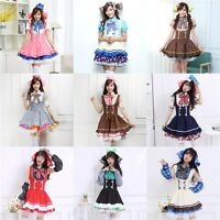 Lovelive! Love Live! Candy Cosplay Costume Maidservant Dress Uniform Full Set