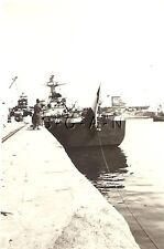 WWII US RP- French North Africa- Navy- Port- BB- Battleship- CV Aircraft Carrier