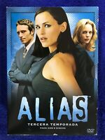 ALIAS TERCERA 3ª TEMPORADA COLECCION 6 DVD ESPAÑOL INGLES FRACES ... AM