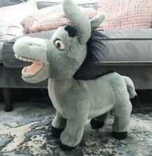 """Shrek Donkey Soft Plush Toy 20"""" 2003 Universal Studios Dreamworks Grey Kids Toy"""