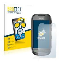 2x Protector Pantalla Mate para Nokia C7-00 Película Protectora