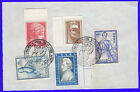 """GREECE """"Balkan Games"""" Commemorative pmk on 5 stamps USED"""