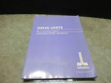 OKUMA DRIVE UNITS MAINTENANCE MANUAL BLII-D VACII VACIII 3727-E-R3