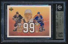 1991-92 Upper Deck French #38 Wayne Gretzky 99 BGS 9.5