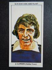 The Sun Soccercards 1978-79 - James Lawson - Halifax Town #647