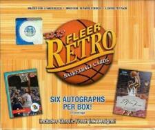 2012-13 Fleer Retro Basketball Factory Sealed Hobby Box