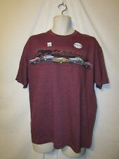 mens vintage ford mustang t-shirt XL nwt fig red